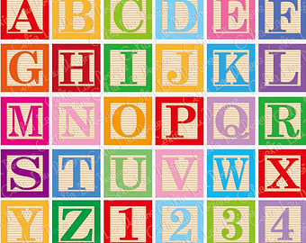 Baby Block Letters Clipart 20 Free Cliparts Download