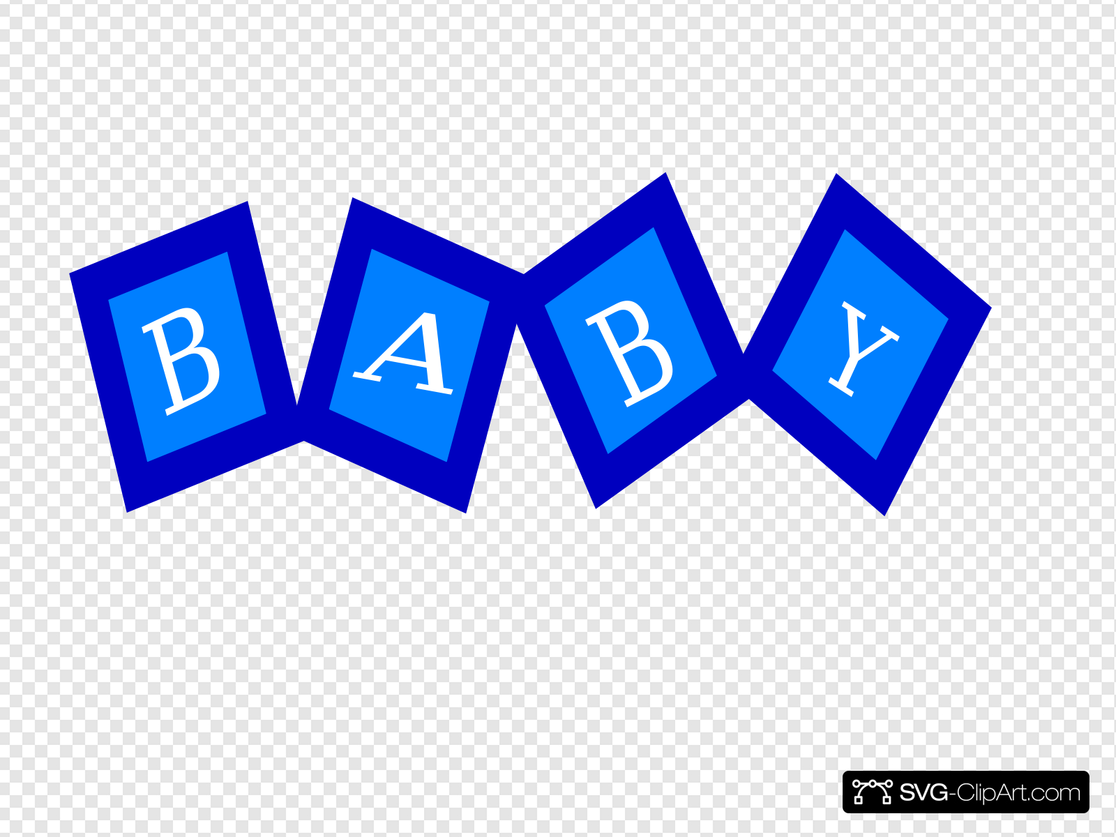 Baby Blocks Clip art, Icon and SVG.