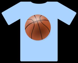 Light Blue Shirt Basketball Clip Art at Clker.com.