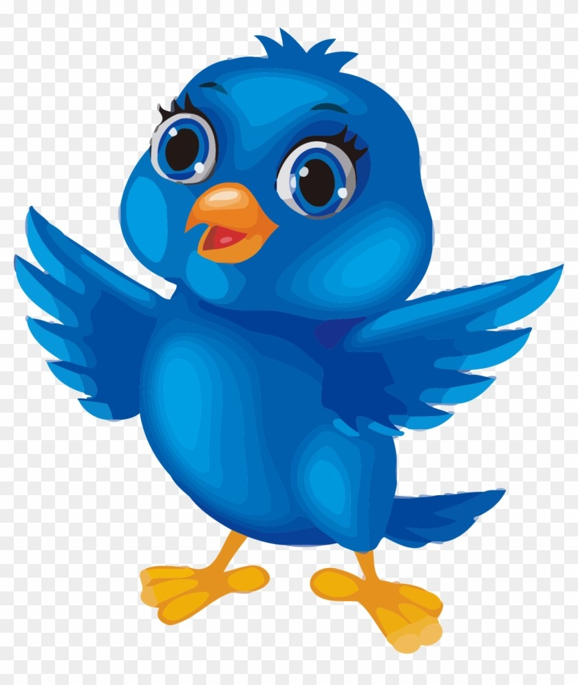 On Blue Bird Clipart 49 494001 Image Cartoon Png Baby.
