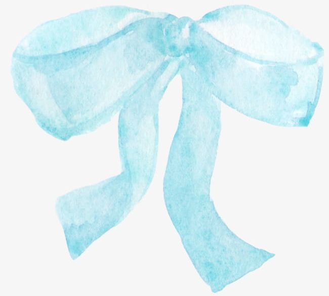 Light Blue Bow Chart PNG, Clipart, Blue, Blue Clipart, Bow.