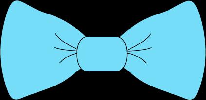Light Blue Bow Tie.
