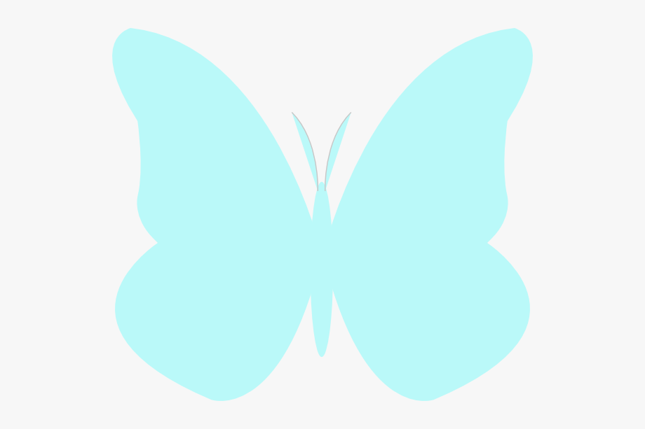 Bright Butterfly Clip Art.
