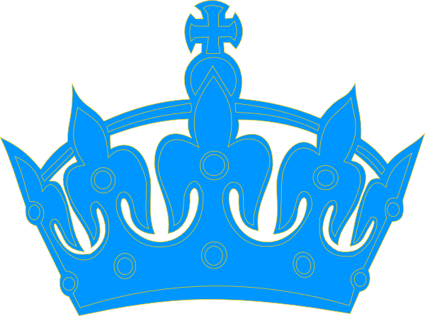 Light Blue Crown Logo.