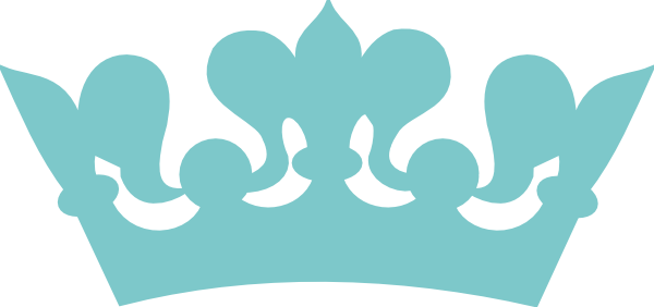 Blue Prince Crown Clipart.