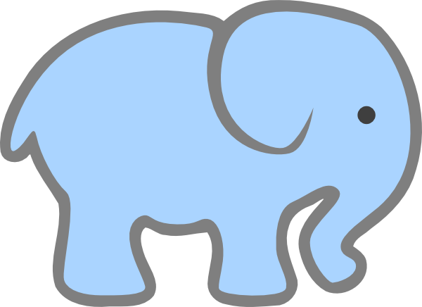 Free Blue Elephant Cliparts, Download Free Clip Art, Free.
