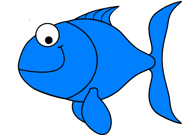Light Blue Fish Clip Art at Clker.
