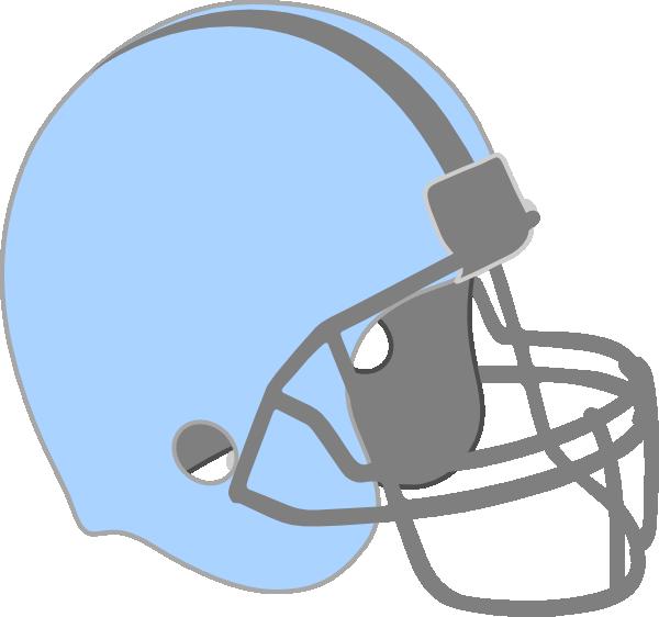Blue Football Helmet Clip Art at Clker.com.