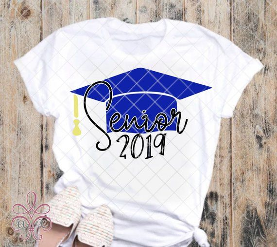 Senior 2019 Graduation Cap SVG DXF PNG.