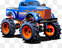 Monster Truck PNG.