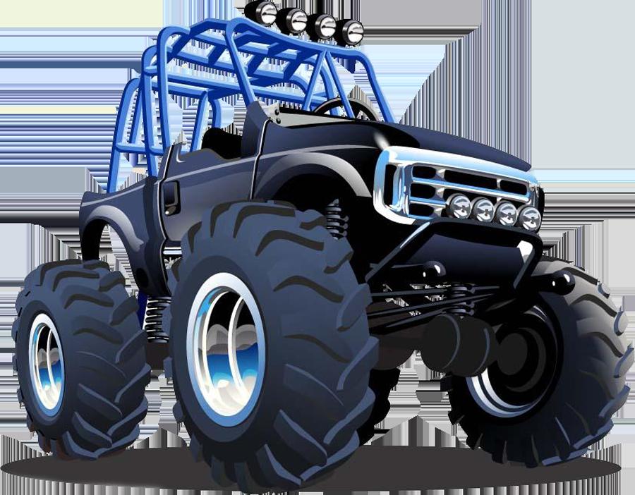 Car Monster truck Royalty.