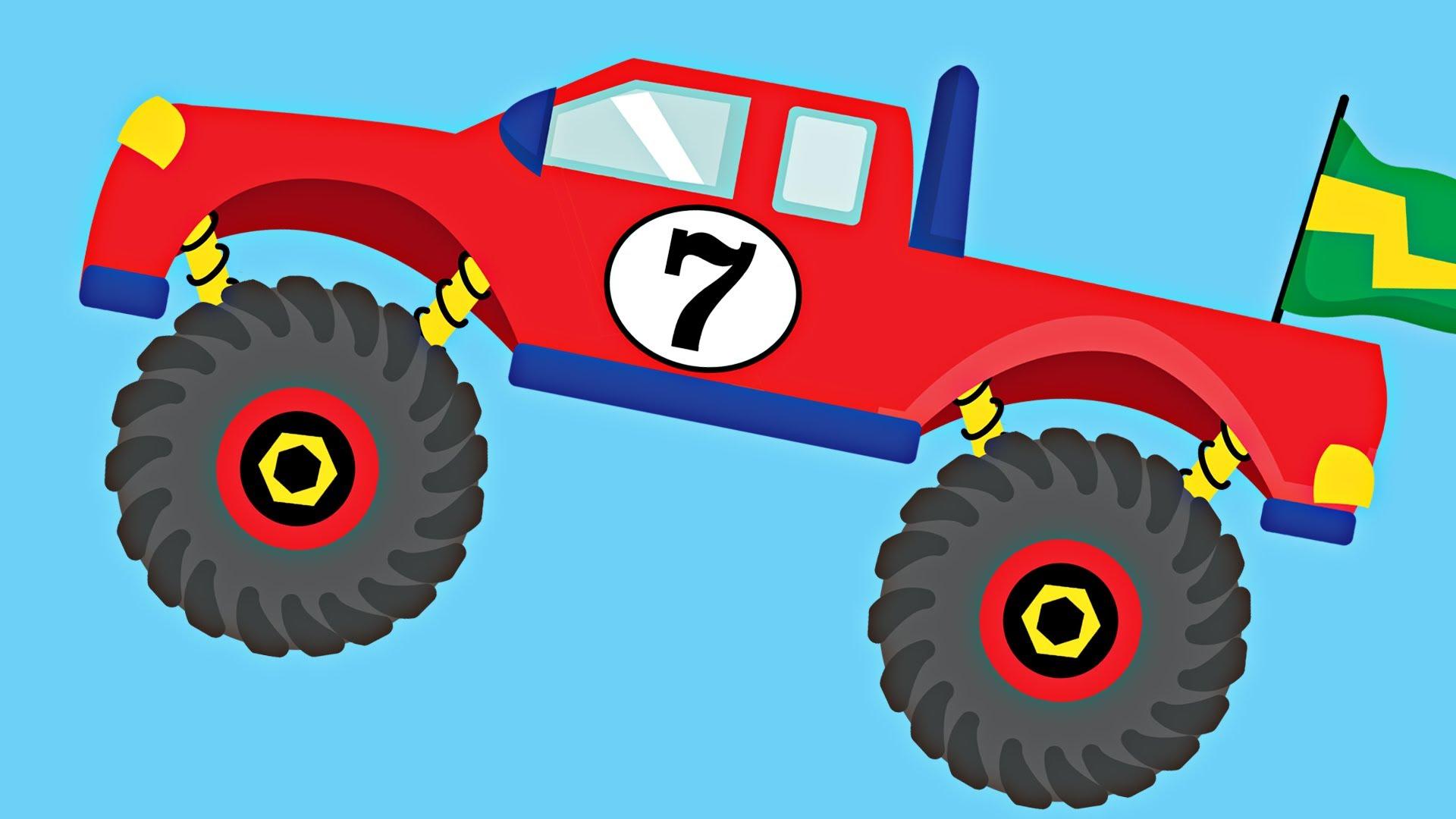 Monster truck truck pictures for kids clip art.