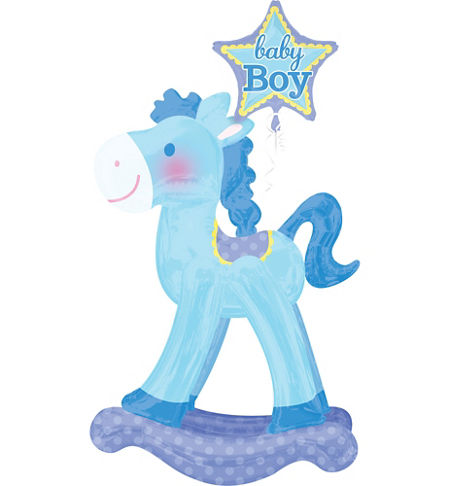 Baby Rocking Horse Clipart.