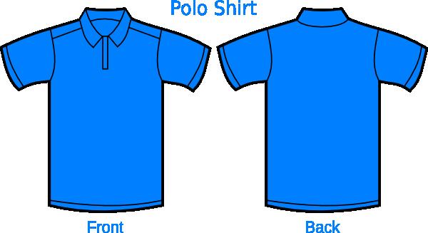 Light Blue Polo Shirt Clip Art at Clker.com.
