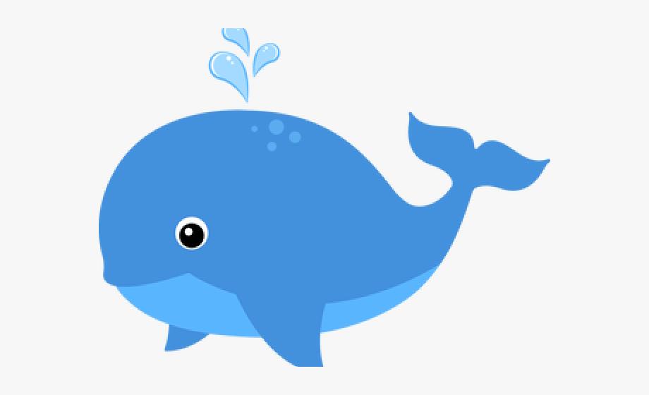 Blue Whale Clipart Color Blue.