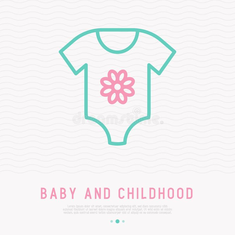 Template Baby Body Stock Illustrations.