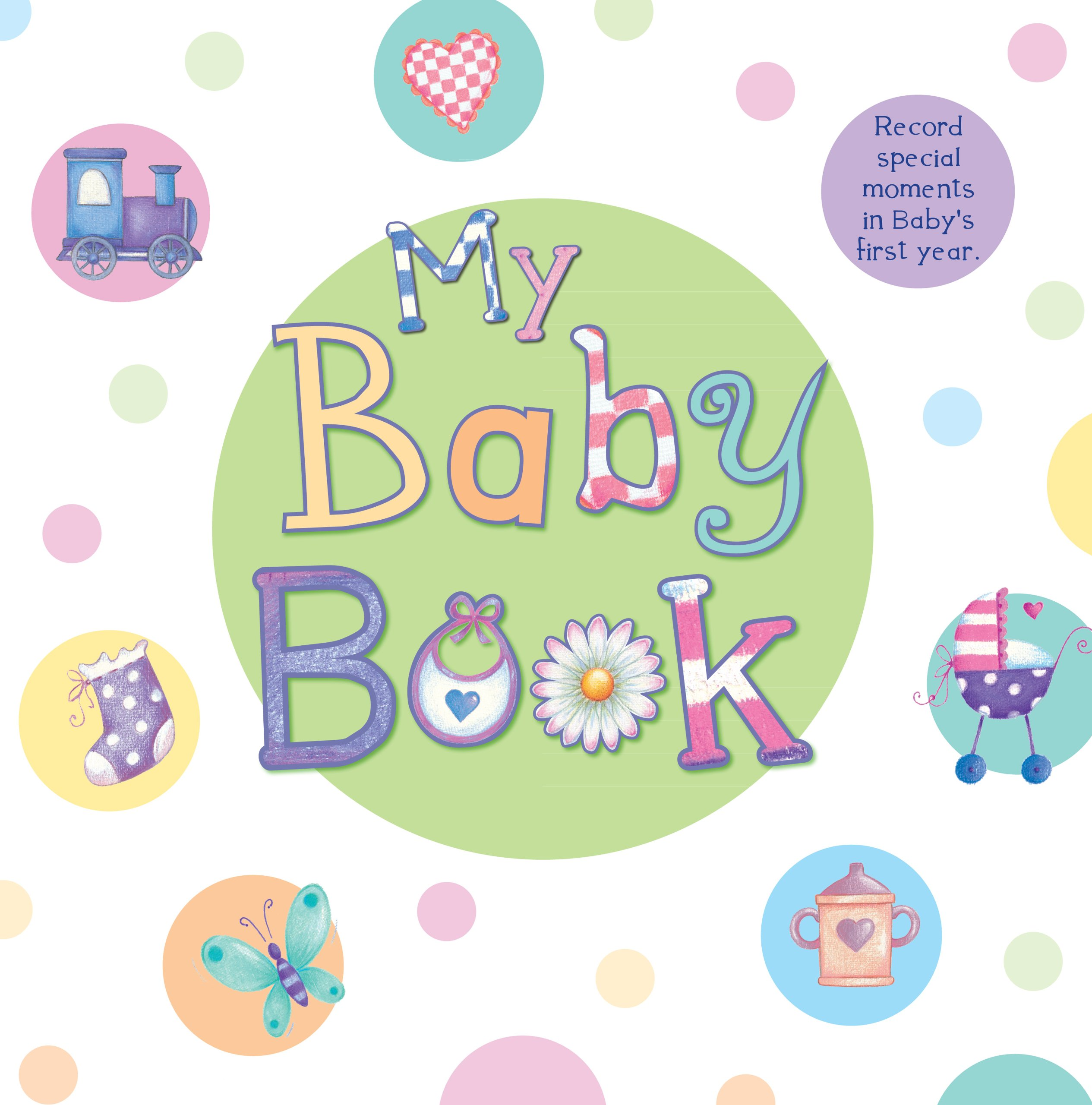 Baby book clipart 6 » Clipart Station.