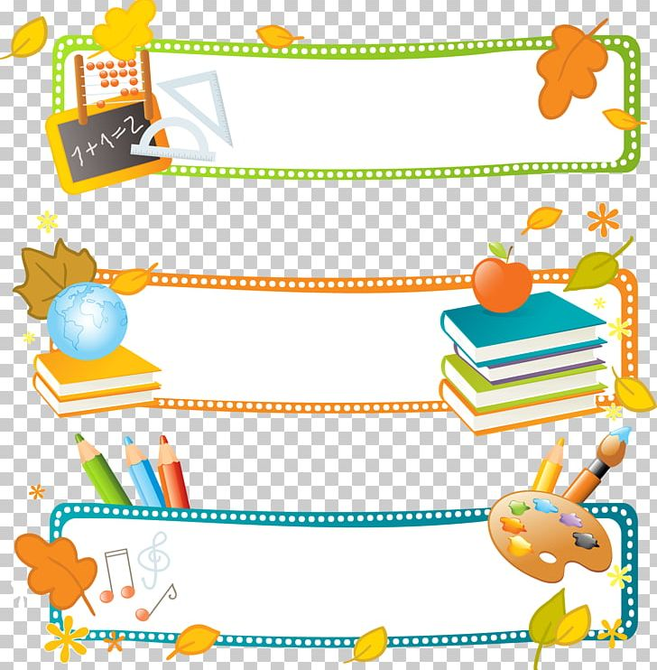 School Banner Education Illustration PNG, Clipart, Baby Toys.