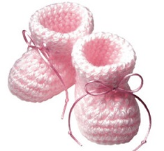 Baby booties clipart free » Clipart Station.