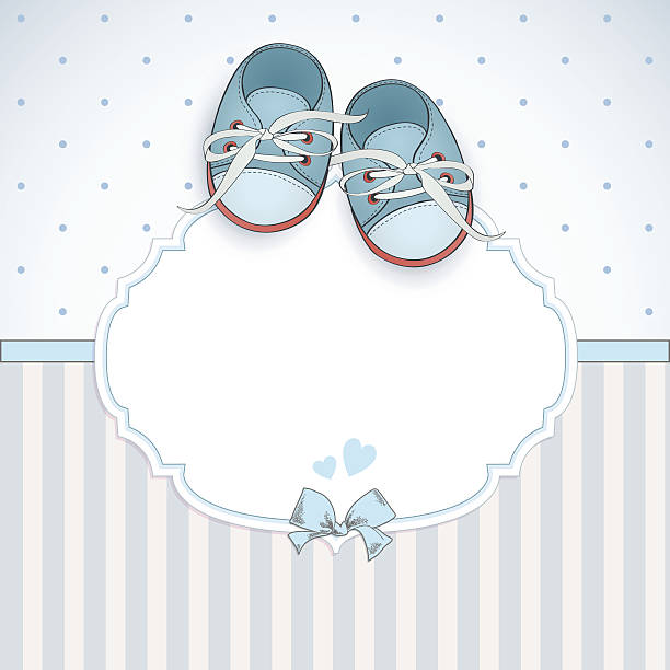 Best Baby Booties Illustrations, Royalty.