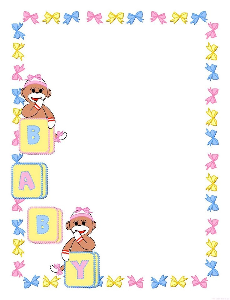 Baby Clipart Frames.