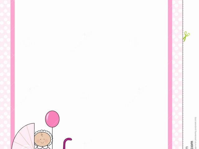 Free Printable Baby Borders for Paper Unique Baby Border Clipart.