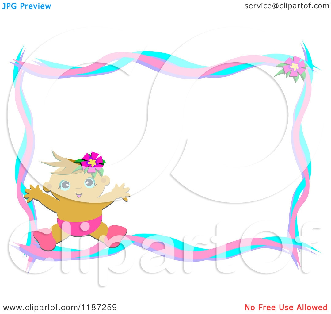 Free Clipart Baby Borders.