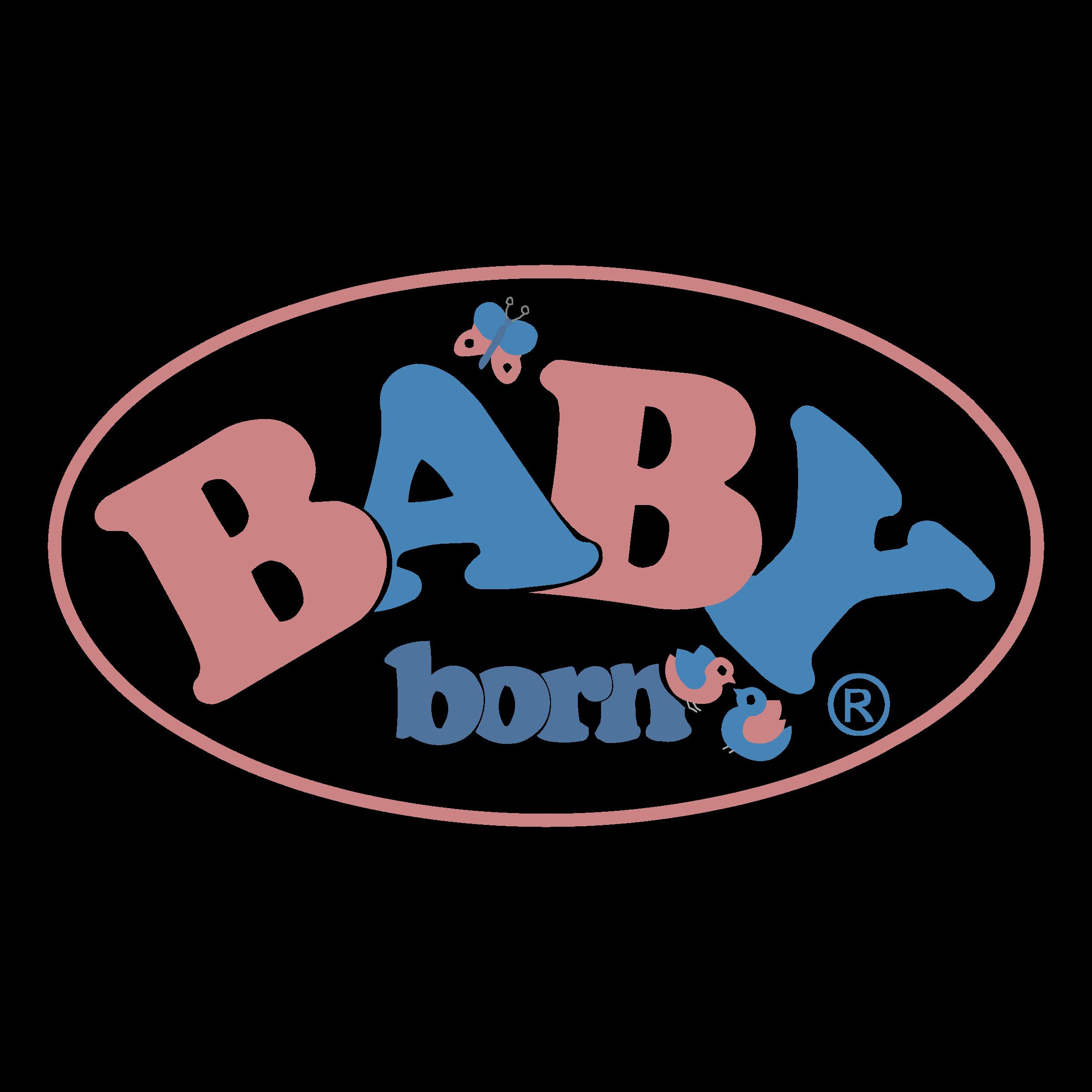 Baby Born Logo PNG Transparent & SVG Vector.