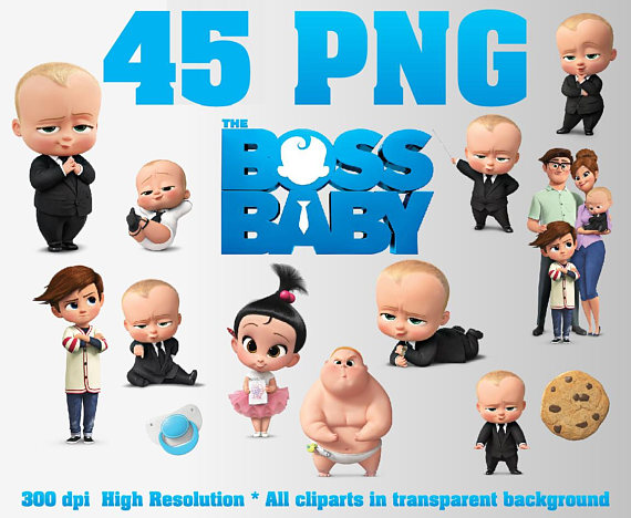 The Boss Baby Clipart.