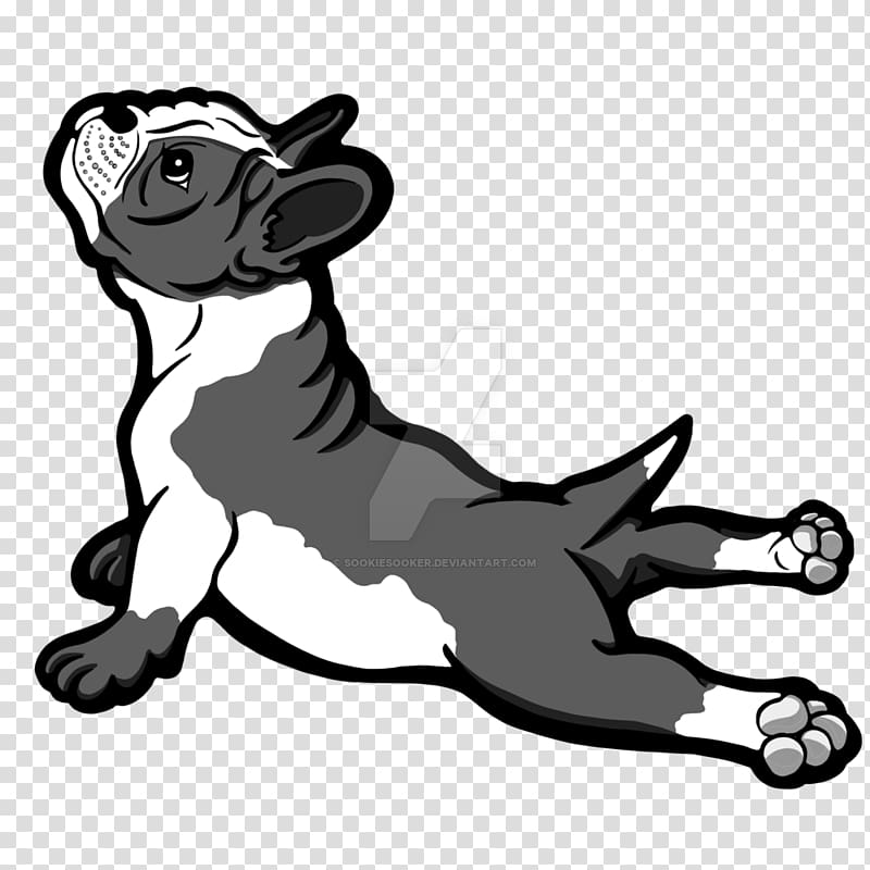 Boston Terrier Bull Terrier Bulldog Pit bull Puppy, cartoon.