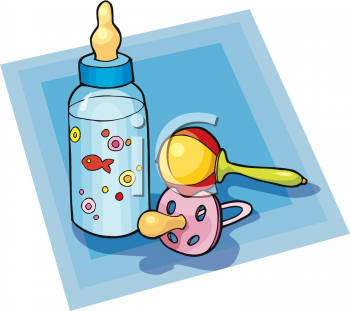 394 Baby Rattle free clipart.