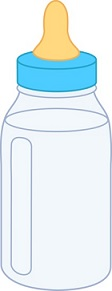 Free Baby Bottle Clipart.