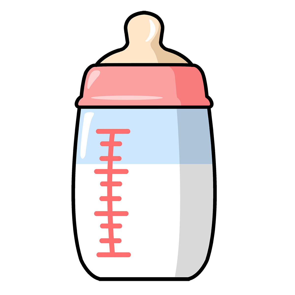 Free to Use & Public Domain Baby Bottle Clip Art.