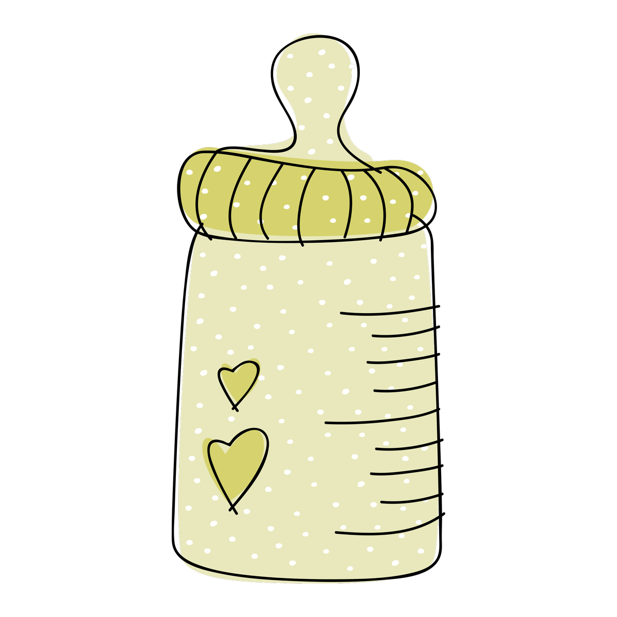 Free Downloadable Baby Bottle Clipart.