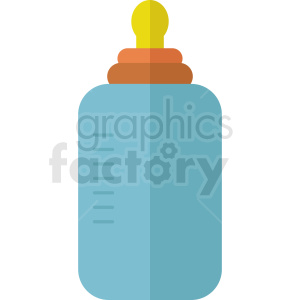 baby bottle icon no background clipart. Royalty.