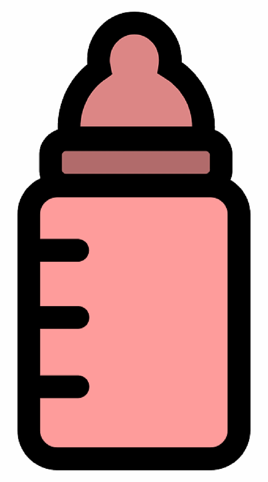 Baby Bottle Icon Pink Png Download Baby Bottle.