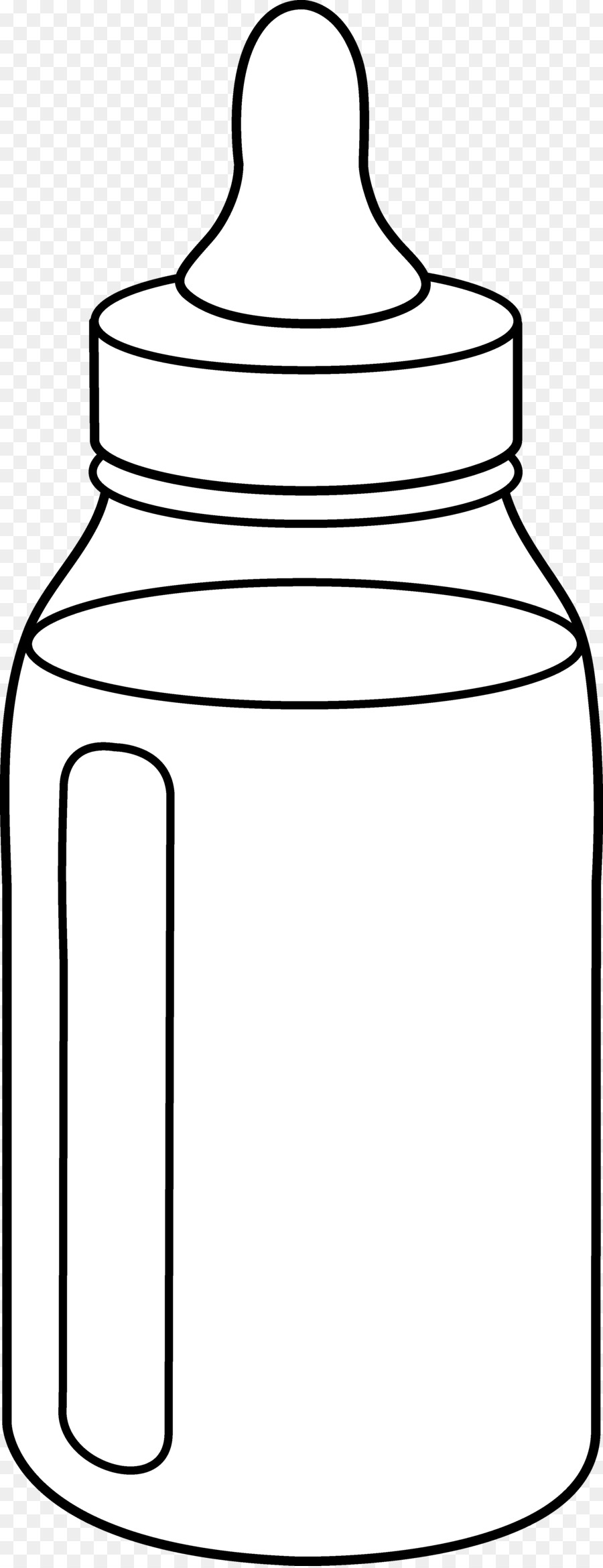 Baby Bottle Drawing clipart.