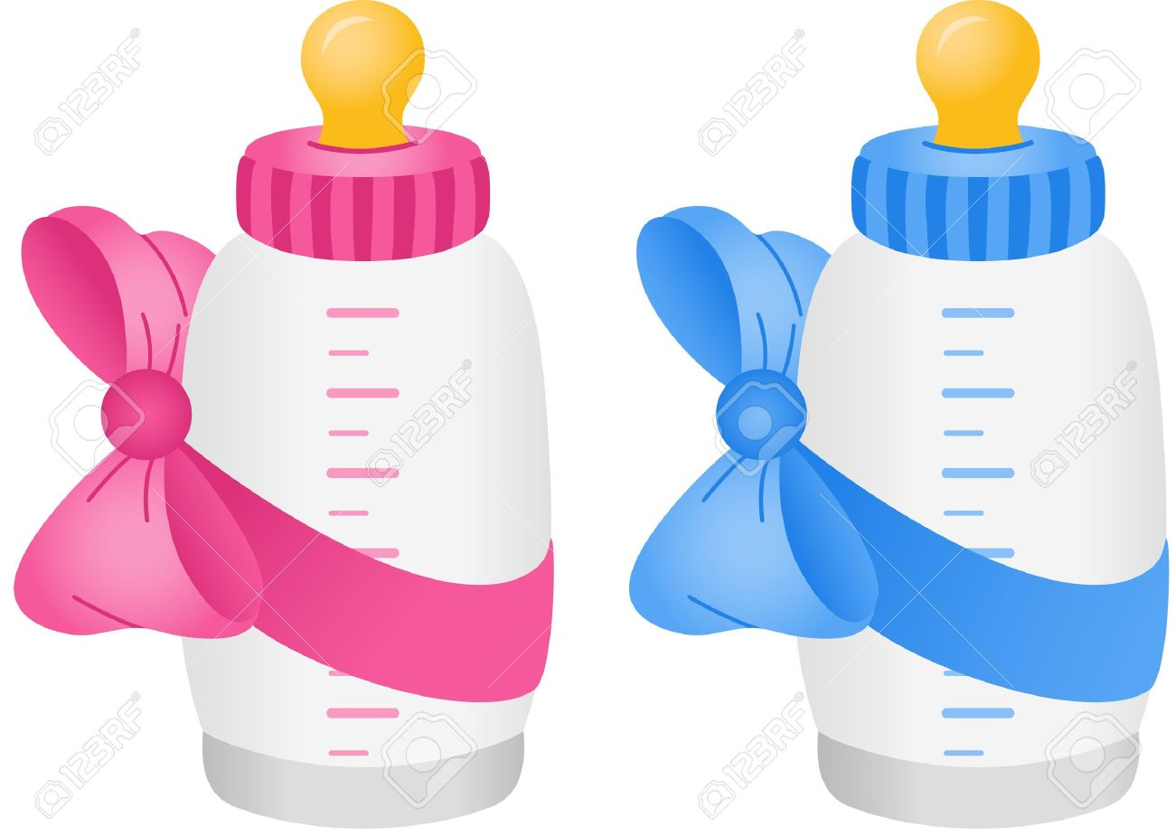 798 Baby Bottle free clipart.