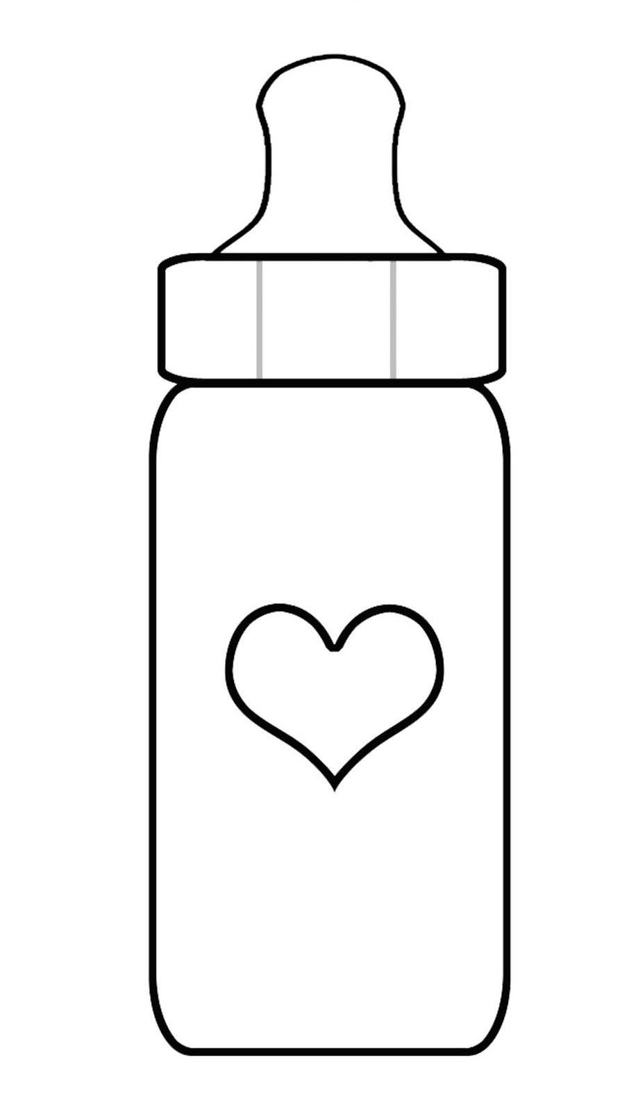 Bottle Outline Template.