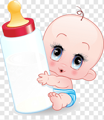Baby Bottles cutout PNG & clipart images.