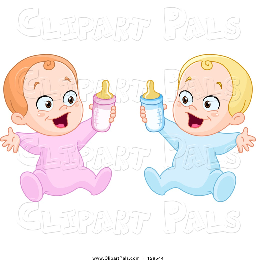 Baby boy and girl clipart 7 » Clipart Portal.