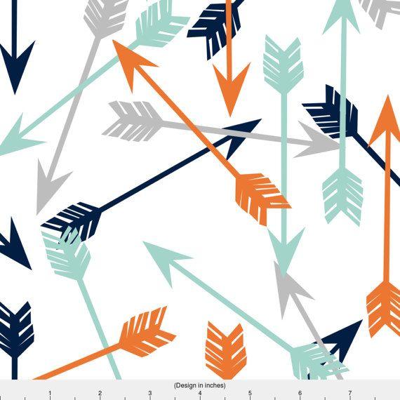 Arrows Fabric.