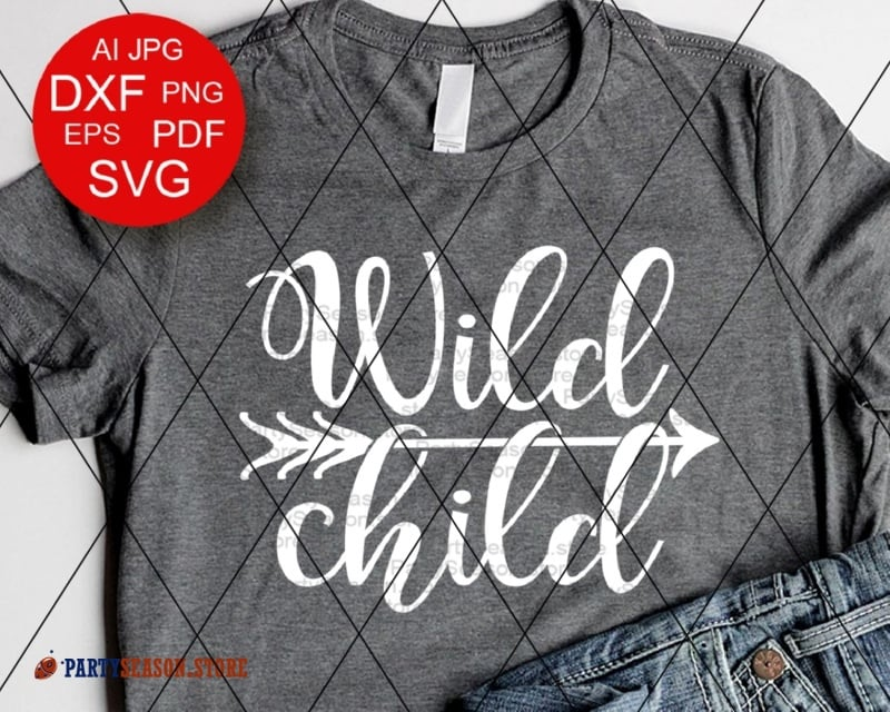 Wild Child SVG files sayings Baby boy Kids shirt digital design SVG  Adventure Arrow clipart Camping Vacation Svg files for Cricut Silhouette.