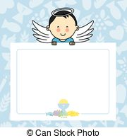 Baby boy baptism clipart » Clipart Station.