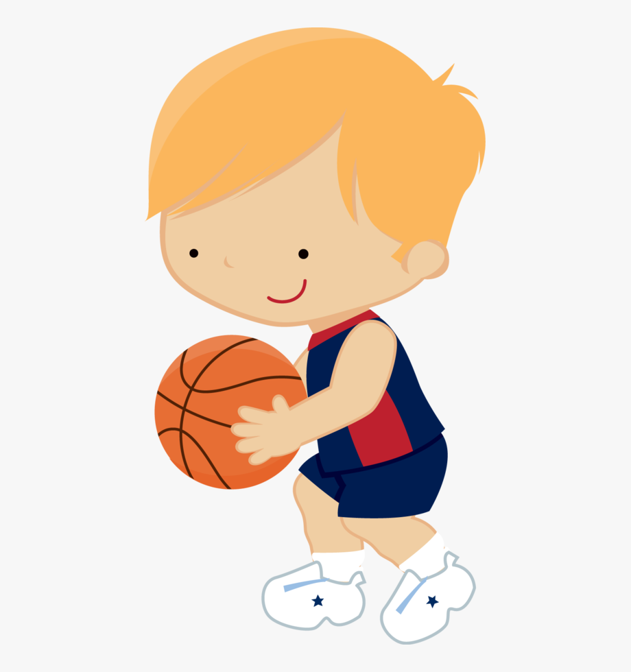 Clipart Child Basketball.