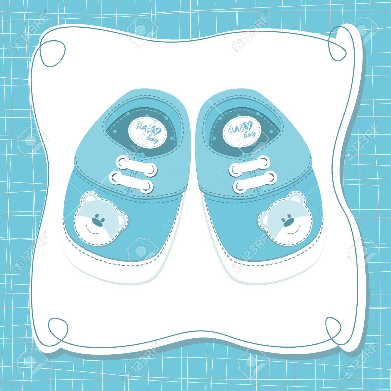 Baby boy shoes.