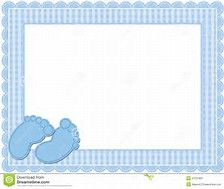 Image result for Baby Boy Borders Clip Art.