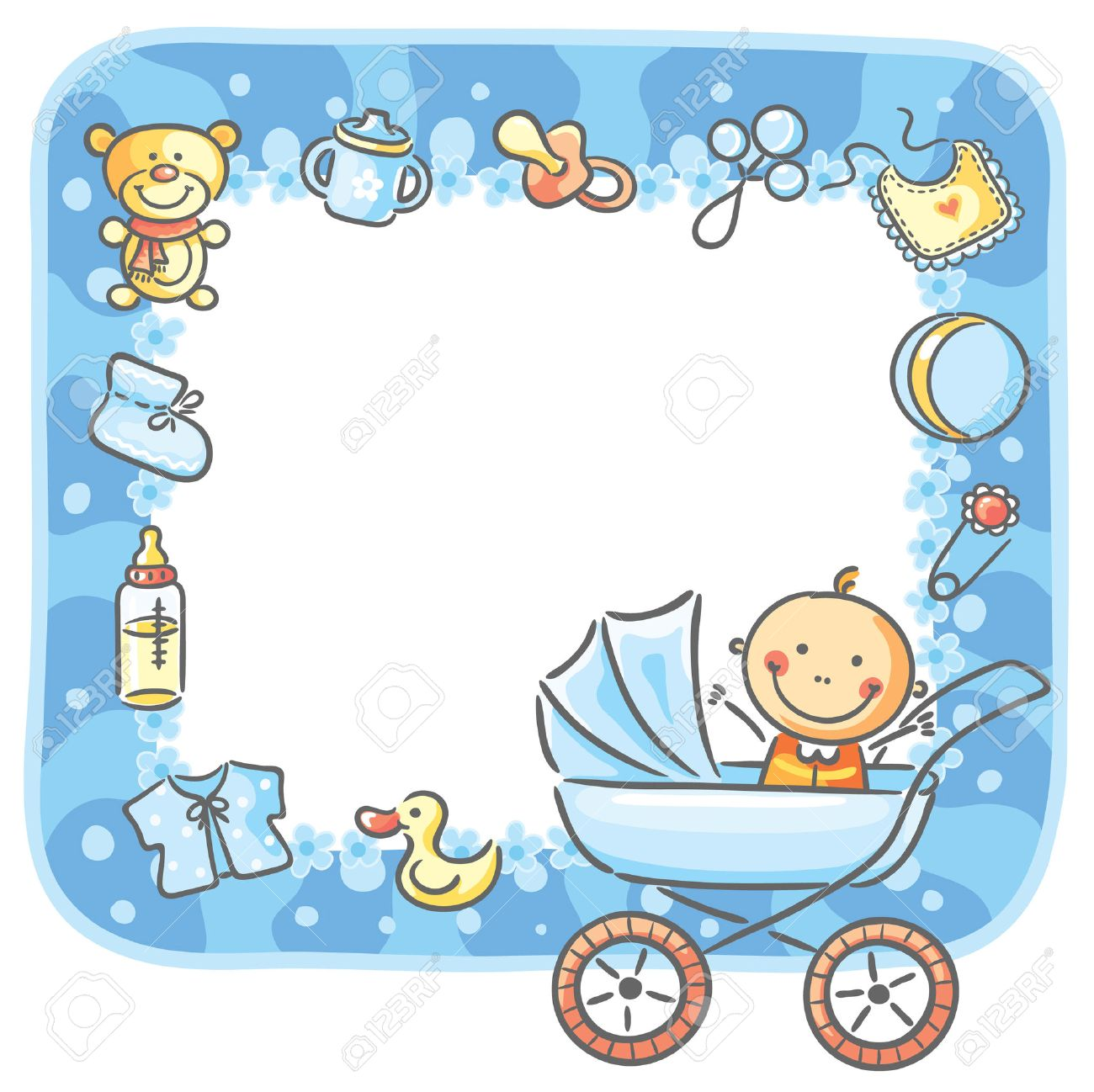 Baby Clip Art Borders And Frames.