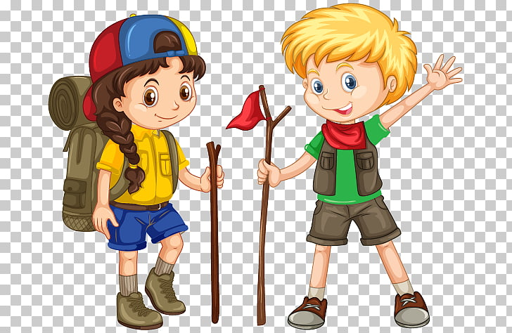 Camping Child , child, boy and girl PNG clipart.
