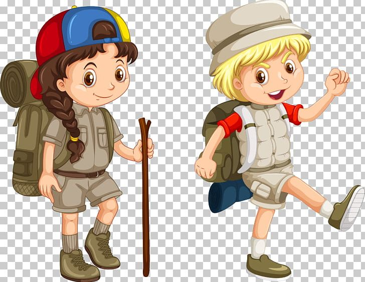 Camping Illustration PNG, Clipart, Adventure Vector, Boy.